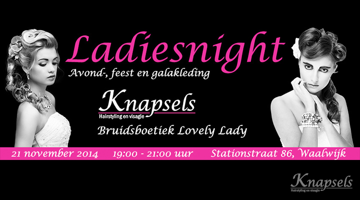 Knapsels-ladiesnight