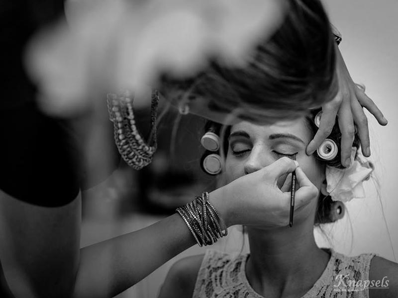 Knapsels-bruiloft-Eline-Makeup