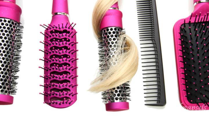 Je haarborstel schoonmaken