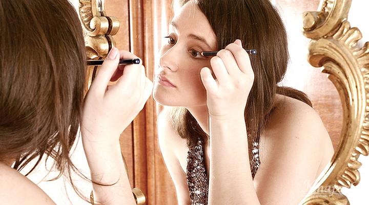 Eyeliner aanbrengen