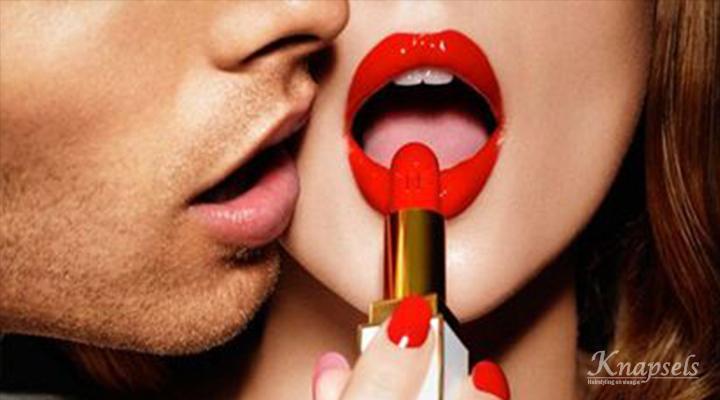 Perfecte rode lippen